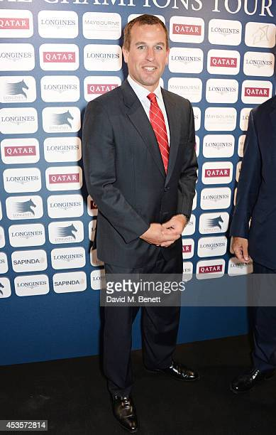 Peter Phillips attends the 2014 Longines Global Championships Tour party at Claridge's Hotel on August 13 2014 in London England