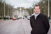 Peter Phillips poses for a photo on The Mall where 10000 guests will attend The Patron's Lunch to be held on June 12 which will celebrate his...