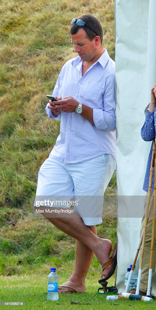 Prince William And Prince Harry Attend Charity Polo Match