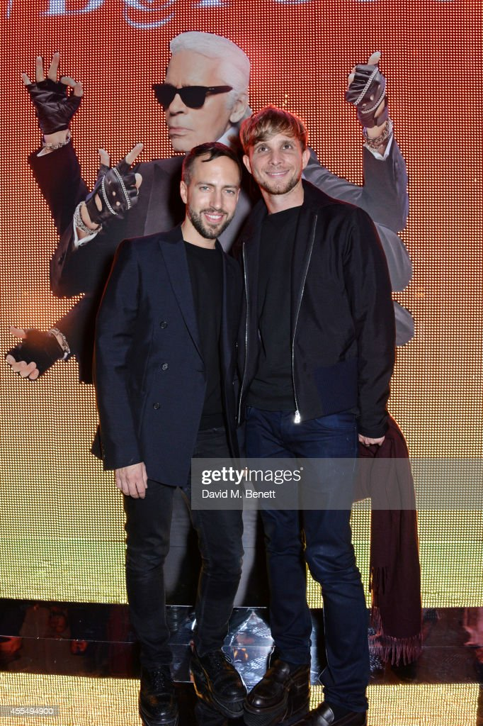 Peter Pilotto and Christopher de Vos attend The Business of Fashion celebrating the #BOF500 the people shaping the global fashion industry at The...