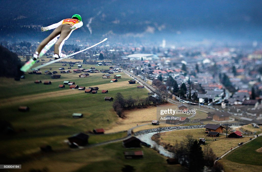 <a gi-track='captionPersonalityLinkClicked' href=/galleries/search?phrase=Peter+Prevc&family=editorial&specificpeople=6667561 ng-click='$event.stopPropagation()'>Peter Prevc</a> of Slovenia soars through the air during his practice jump on Day 1 of the 64th Four Hills tounament on December 31, 2015 in Garmisch-Partenkirchen, Germany.