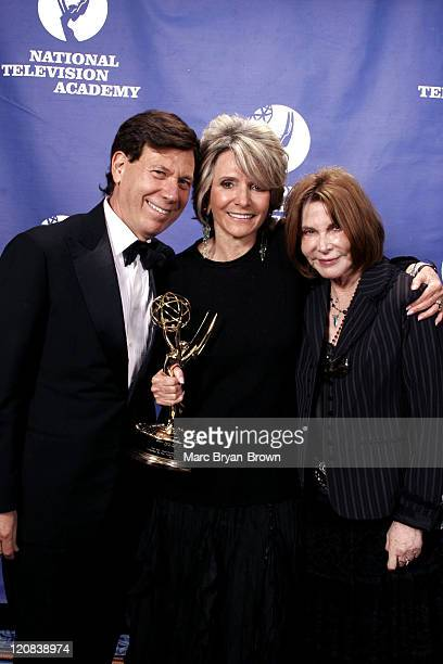 Peter Price Sheila Nevins and Lee Grant at the 26th Annual News and Documentary Emmy Awards Ceremony