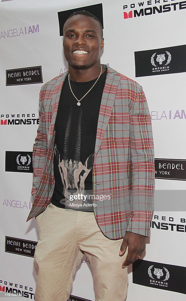Peter Quillin attends the Angela I Am launch at Henri Bendel on July 31, 2013 in New York City.