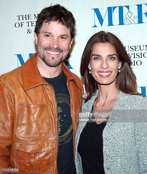 Peter Reckell and Kristian Alfonso during Forty Years of 'Days of Our Lives' Arrivals at Museum of Television and Radio in Beverly Hills California...