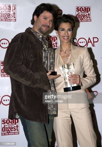 Peter Reckell and Kristian Alfonso during Soapnet Presents The Soap Opera Digest Awards Press Room at ABC Prospect Studios in Los Angeles California...