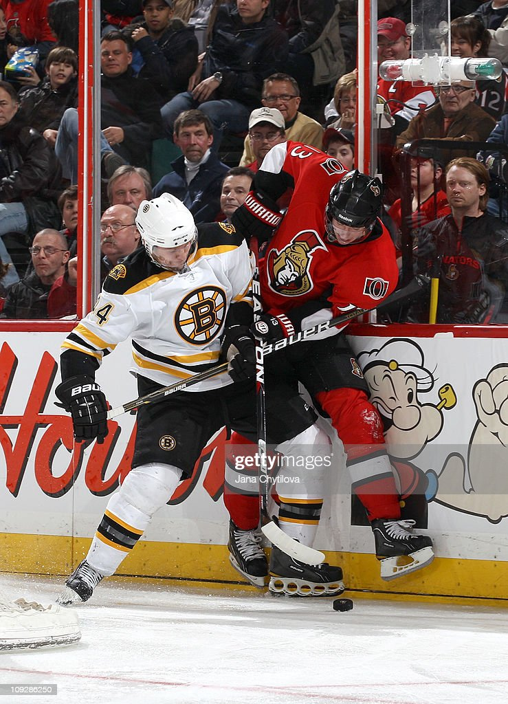 Boston Bruins v Ottawa Senators