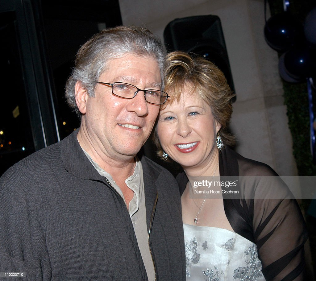 Peter Riegert and Yeardley Smith during The After Party of Yeardley Smith's New OneWoman Play More at Olive s at the W Hotel in New York City New...