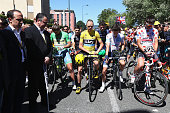 Peter Sagan of Slovakia and Tinkoff Chris Froome of Great Britain and Team Sky Adam Yates of Great Britain and OricaBikeExchange and Thomas De Gendt...
