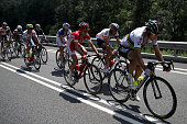 Peter Sagan of Slovakia riding for Tinkoff leads the breakaway during stage nine of the 2016 Le Tour de France a 1845km stage from Vielha Val d'Aran...