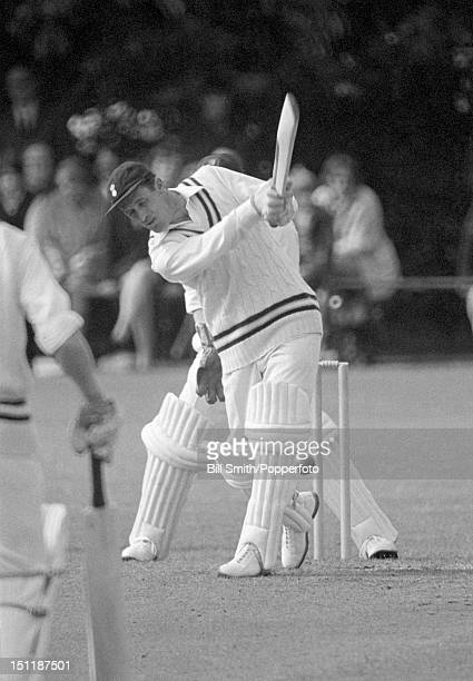 Peter Sainsbury batting for Hampshire during their John Player League match against Essex at Basingstoke 11th June 1972 Essex won by 129 runs
