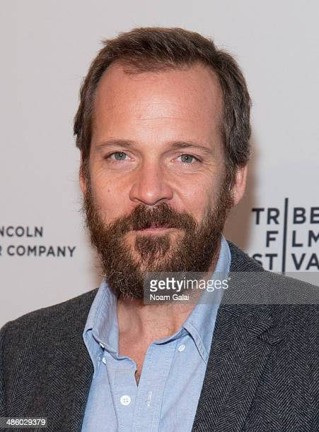 Peter Sarsgaard attends the screening of 'Night Moves' during the 2014 Tribeca Film Festival at SVA Theater on April 21 2014 in New York City