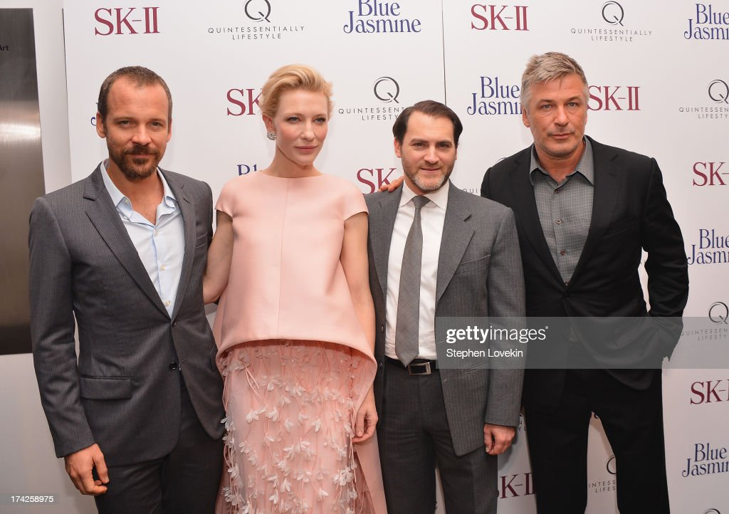 <a gi-track='captionPersonalityLinkClicked' href=/galleries/search?phrase=Peter+Sarsgaard&family=editorial&specificpeople=210547 ng-click='$event.stopPropagation()'>Peter Sarsgaard</a>, <a gi-track='captionPersonalityLinkClicked' href=/galleries/search?phrase=Cate+Blanchett&family=editorial&specificpeople=201621 ng-click='$event.stopPropagation()'>Cate Blanchett</a>, <a gi-track='captionPersonalityLinkClicked' href=/galleries/search?phrase=Michael+Stuhlbarg&family=editorial&specificpeople=228317 ng-click='$event.stopPropagation()'>Michael Stuhlbarg</a> and <a gi-track='captionPersonalityLinkClicked' href=/galleries/search?phrase=Alec+Baldwin&family=editorial&specificpeople=202864 ng-click='$event.stopPropagation()'>Alec Baldwin</a> attend the 'Blue Jasmine' New York Premiere at the Museum of Modern Art on July 22, 2013 in New York City.