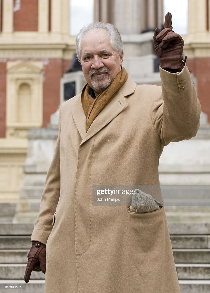 Peter Sarstedt, Who Is Performing In The Solid 60S Silver Show, Poses For Photographs Outside The Royal Albert Hall In Central London To Launch The 25Th Anniversary Special Show.