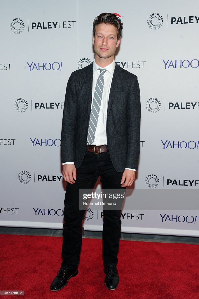 Peter Scanavino attends the 2nd Annual Paleyfest New York Presents Law Order SVU' at Paley Center For Media on October 13 2014 in New York New York