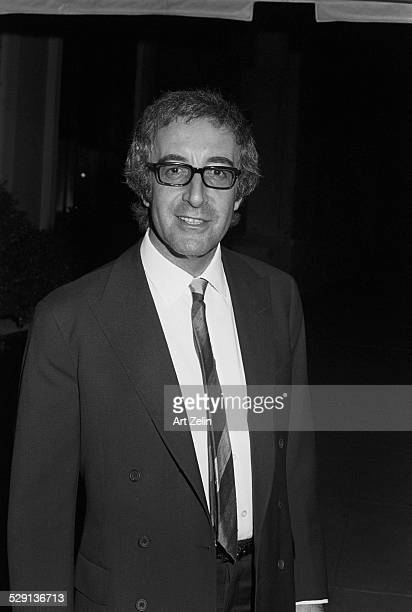 Peter Sellers wearing doublebreasted suit and tie circa 1970 New York