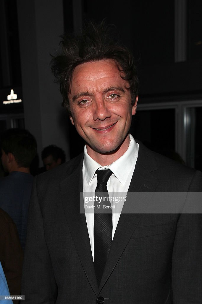 <a gi-track='captionPersonalityLinkClicked' href=/galleries/search?phrase=Peter+Serafinowicz&family=editorial&specificpeople=3970116 ng-click='$event.stopPropagation()'>Peter Serafinowicz</a> attends a listening party for Daft Punk's new album 'Random Access Memories' at The Shard on May 13, 2013 in London, England.