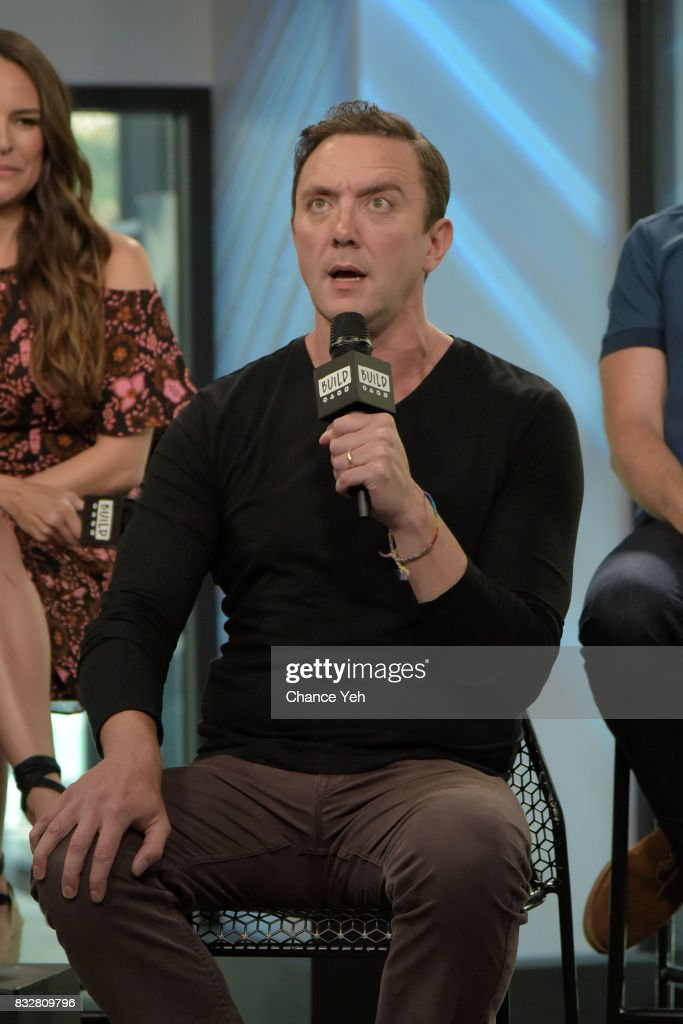 Peter Serafinowicz attends the Build series to discuss 'The Tick' at Build Studio on August 16, 2017 in New York City.