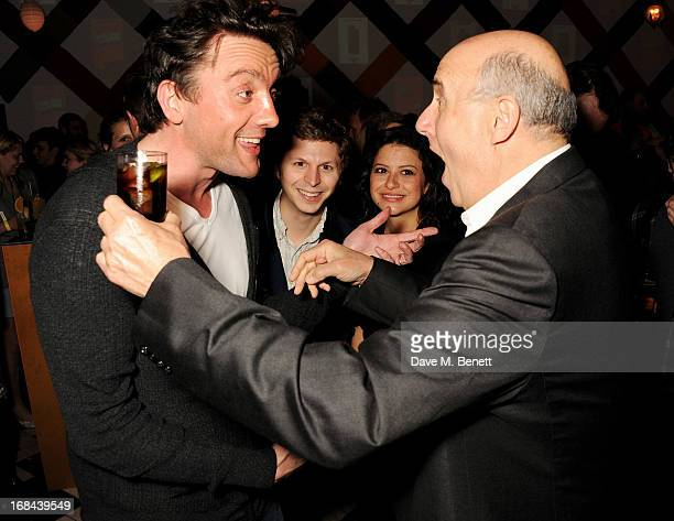 Peter Serafinowicz Michael Cera Alia Shawkat and Jeffrey Tambor attend an after party celebrating the UK Premiere of the Netflix Original Series...