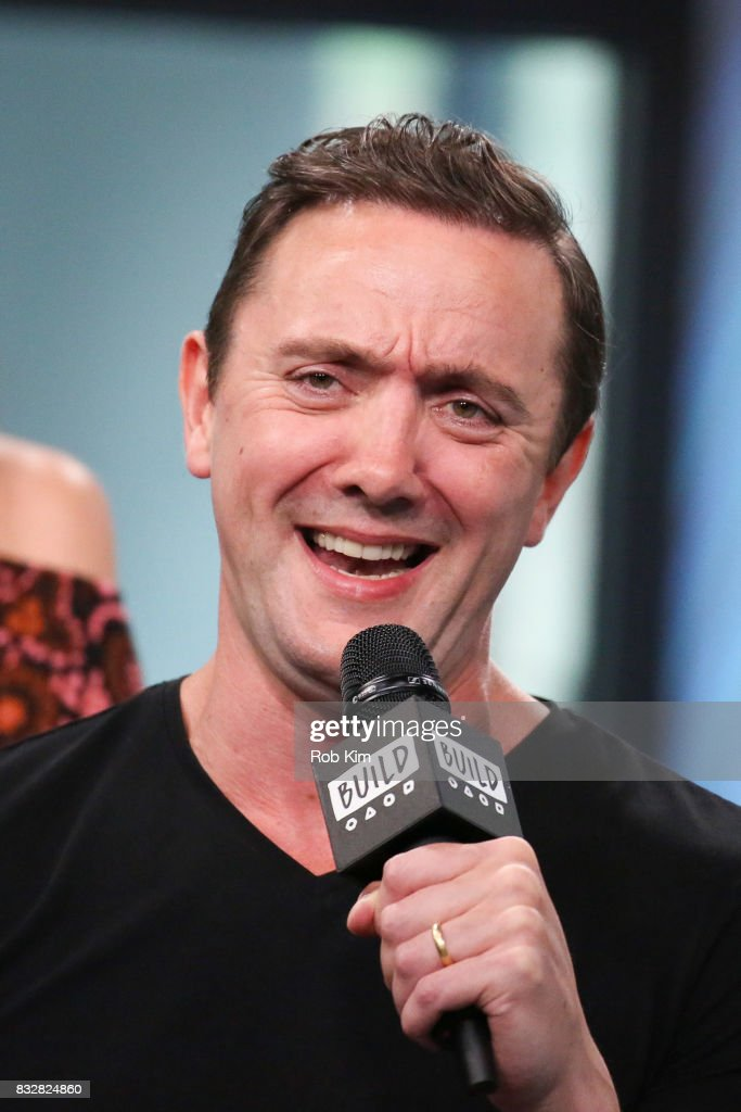 Peter Serafinowicz of 'The Tick' visits at Build Studio on August 16, 2017 in New York City.
