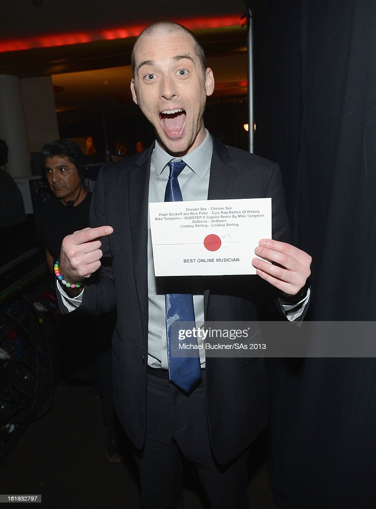 Peter Shukoff attends the 3rd Annual Streamy Awards at Hollywood Palladium on February 17, 2013 in Hollywood, California.