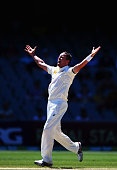Peter Siddle of Australia appeals during day four of the First Test match between Australia and India at Adelaide Oval on December 12 2014 in...