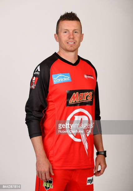 Peter Siddle of the Melbourne Renegades poses for a portrait on December 15 2016 in Melbourne Australia
