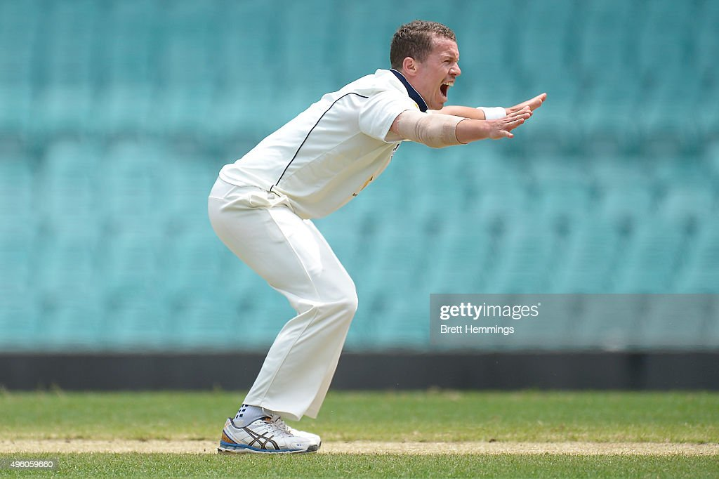 NSW v VIC - Sheffield Shield: Day 2