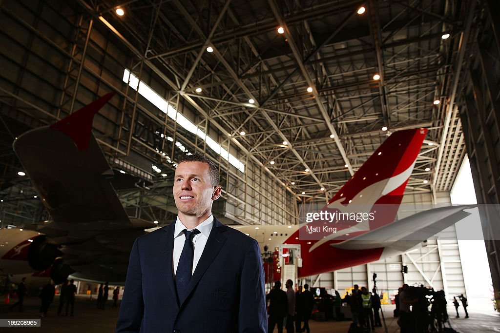 Peter Siddle poses during the Cricket Australia Ashes official team farewell at Sydney International Airport on May 22, 2013 in Sydney, Australia.