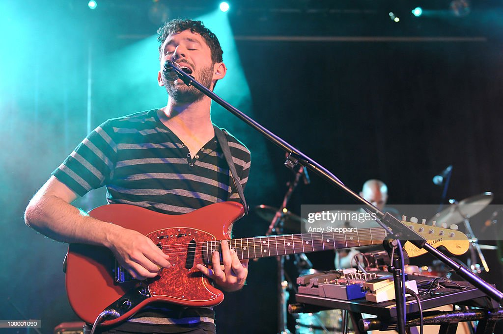 Peter Silberman of American indie rock band The Antlers performs on stage at The Scala on May 19, 2010 in London, England.