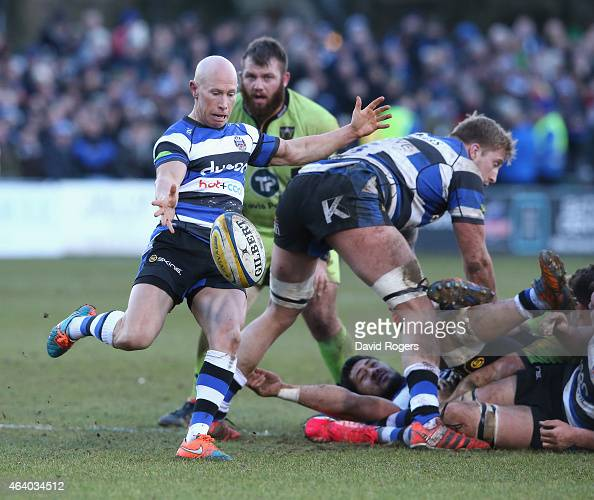 Northampton Saints V Bath Rugby: Peter Stringer Stock Photos And Pictures