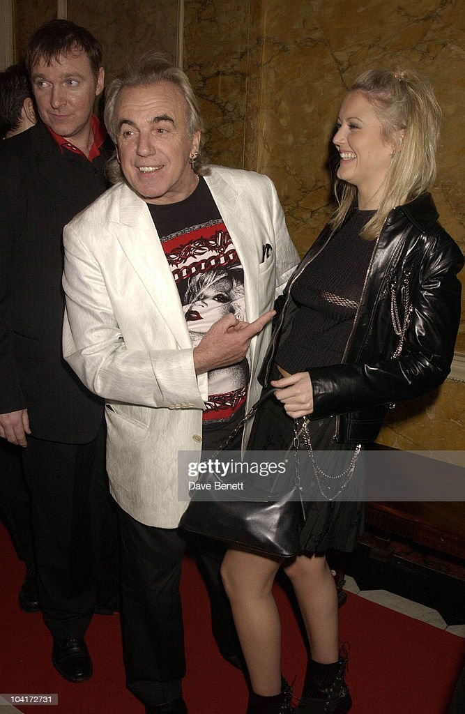 Peter Stringfellow And Partner, Brit Awards 2003 BMG Music After Party At Home House Club In London