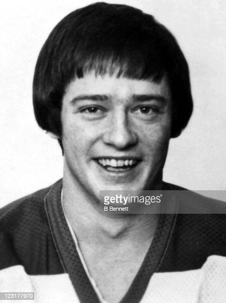 Peter Sullivan of the Winnipeg Jets poses for a portrait in September 1976 in Winnipeg Manitoba Canada