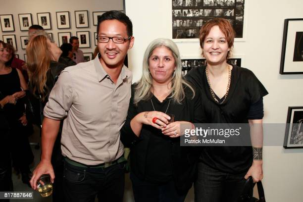 Peter Sung Anita Antonini Marie Havens attend STEVEN KASHER GALLERY Previews MAX'S KANSAS CITY Book Launch and Exhibition at Steven Kasher Gallery on...