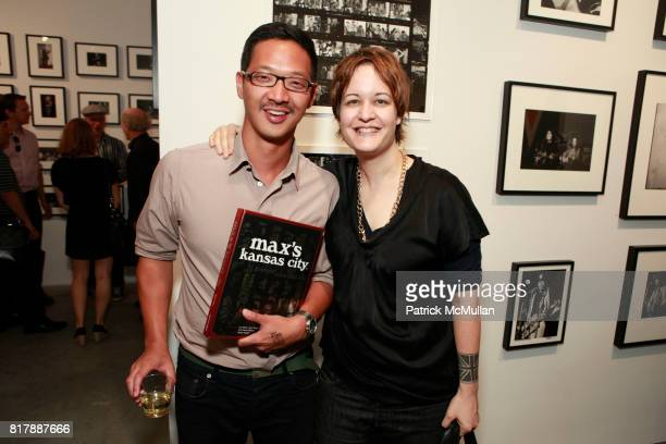 Peter Sung Marie Havens attend STEVEN KASHER GALLERY Previews MAX'S KANSAS CITY Book Launch and Exhibition at Steven Kasher Gallery on September 14...