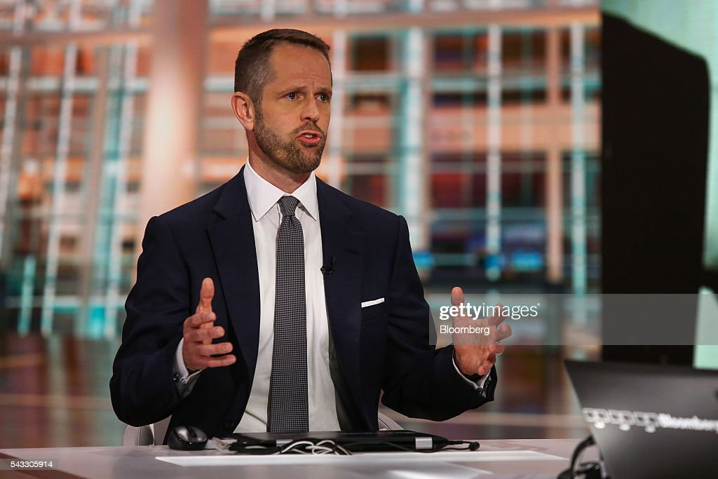 Peter Tague, co-head of global M&A at Citigroup Inc., speaks during a Bloomberg Television interview in New York, U.S., on Monday, June 27, 2016. Tague discussed the outlook for the mergers and acquisitions market. Photographer: Chris Goodney/Bloomberg via Getty Images