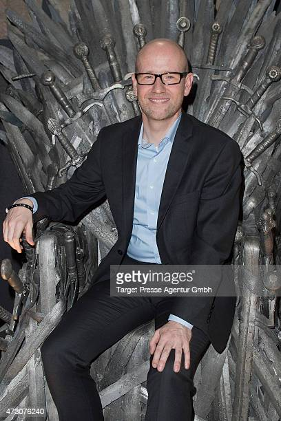 Peter Tauber general secretary of the christian democratic party attends the pre opening party of the exhibition 'Game of Thrones Die Ausstellung' on...