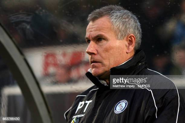 Peter Taylor Wycombe Wanderers manager