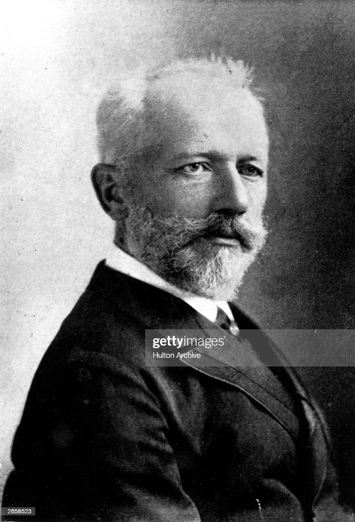 Peter Tchaikovsky (1840 - 1893), Russian composer.