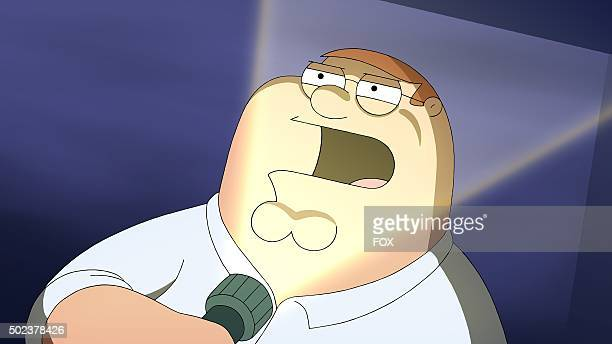 Peter tells the guys a scary tale in the 'Peternormal Activity' season 13 premiere episode of FAMILY GUY airing Sunday Sept 27 on FOX