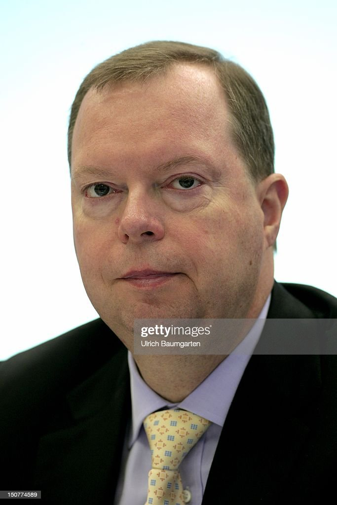 GERMANY, ESSEN, Peter TERIUM, from July 2012 as the successor of Juergen Grossman, CEO of RWE AG, during the press conference,.