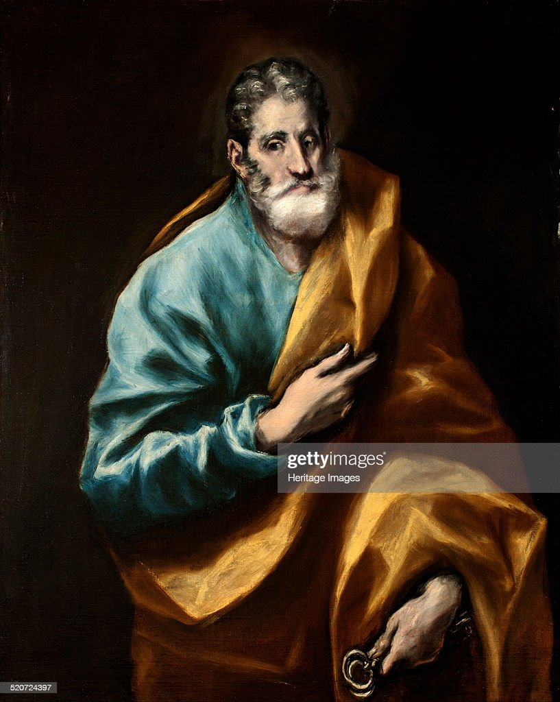 <a gi-track='captionPersonalityLinkClicked' href=/galleries/search?phrase=Peter+the+Apostle&family=editorial&specificpeople=4039470 ng-click='$event.stopPropagation()'>Peter the Apostle</a>. Found in the collection of Museo del Greco, Toledo.
