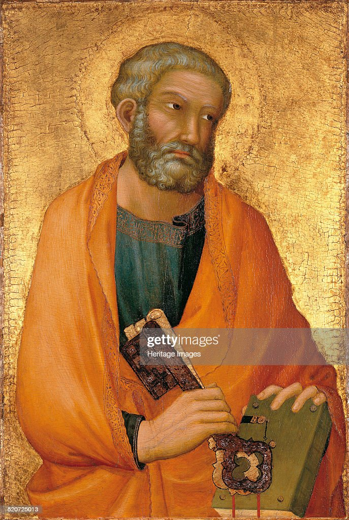 <a gi-track='captionPersonalityLinkClicked' href=/galleries/search?phrase=Peter+the+Apostle&family=editorial&specificpeople=4039470 ng-click='$event.stopPropagation()'>Peter the Apostle</a>. Found in the collection of Thyssen-Bornemisza Collections.