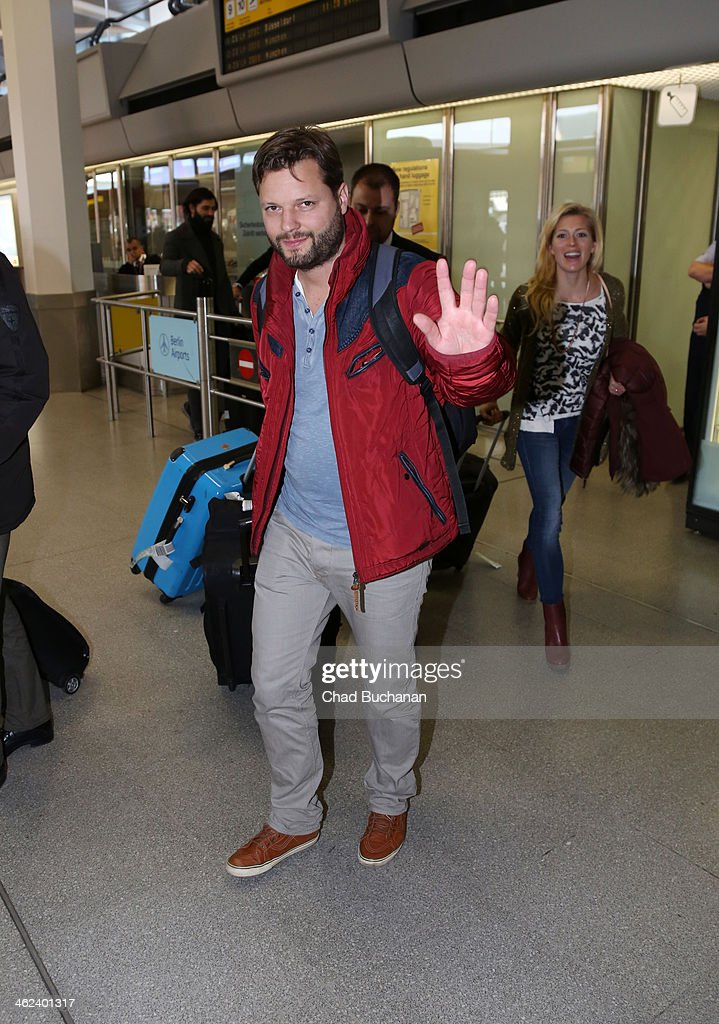 Peter Thorwarth sighting at Tegel Airport on January 13, 2014 in Berlin, Germany.