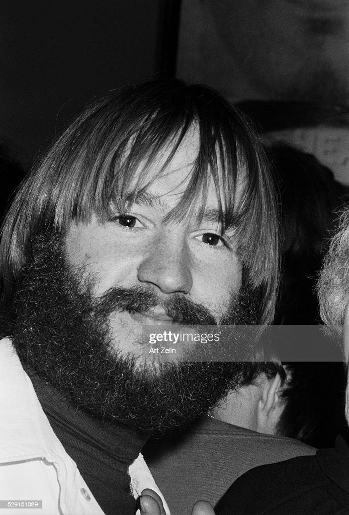 Peter Tork of the Monkees bearded circa 1970 New York