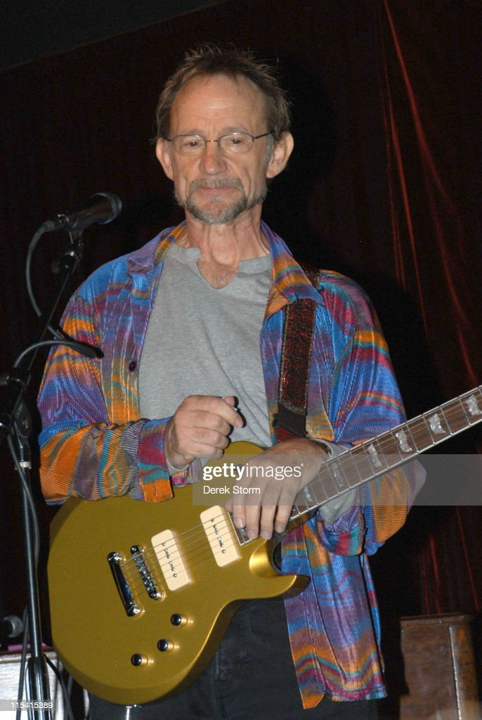 Peter Tork of the Monkees during Peter Tork in Concert at The Cutting Room in New York City August 23 2005 at The Cutting Room in New York City New...