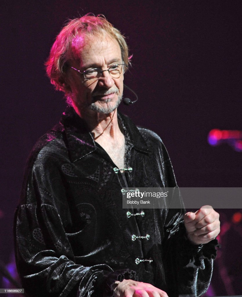 Peter Tork of The Monkees performs at The Beacon Theatre on June 16 2011 in New York City