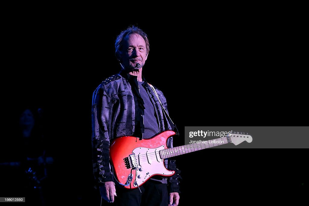 Peter Tork of The Monkees performs in concert at The Greek Theatre on November 10 2012 in Los Angeles California