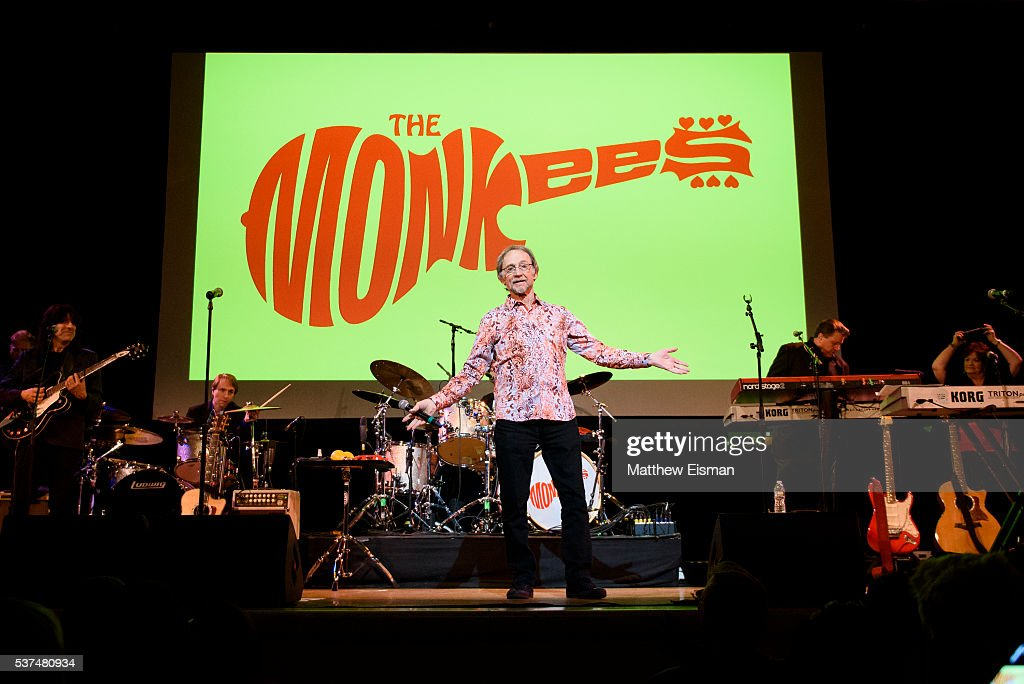 Peter Tork of The Monkees performs live on stage at Town Hall on June 1 2016 in New York City