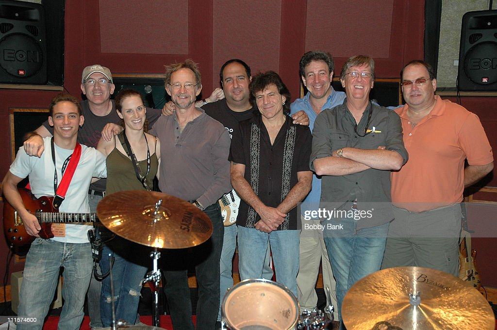 Peter Tork Sandy Gennaro with the Grizelda Band during Rock N Roll Fantasy Camp in New York City at Rock N Roll Fantasy Camp in New York City New...
