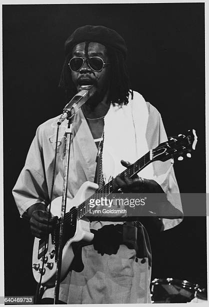 Peter Tosh Playing the Guitar and Singing